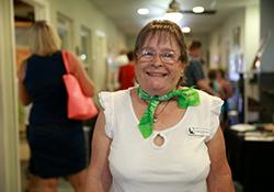 Volunteer Linda Hutchinson